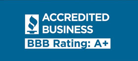 accredited business BBB rating: A plus